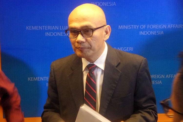 Direktur Jenderal Asia Pasifik Afrika Kementerian Luar Negeri RI Desra Percaya