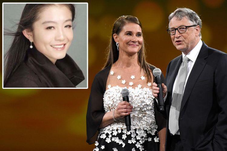 Zhe 'Shelly' Wang, wanita yang diisukan sebagai orang ketiga dalam pernikahan Bill dan Melinda Gates