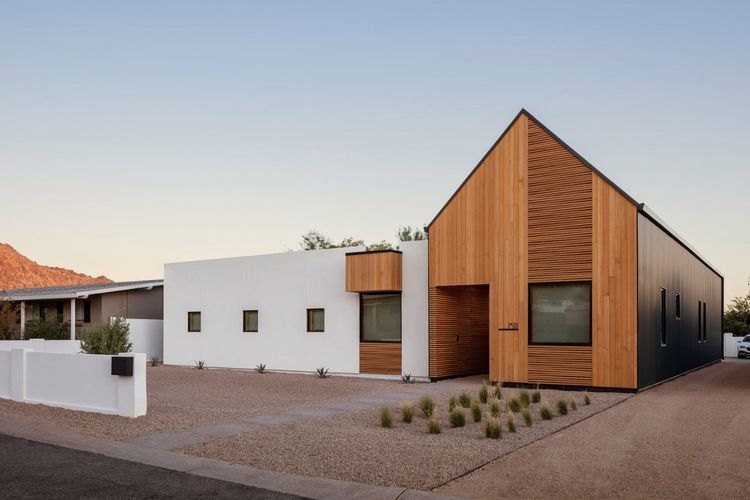 The Ranch Mine ciptakan halaman rumah modern di gurun Arizona