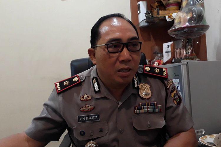 Kepala Polsek Denpasar Selatan, Kompol Nyoman Wirajaya.