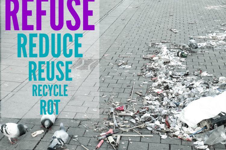 Rumus 5R untuk minimalisir sampah di lingkungan.