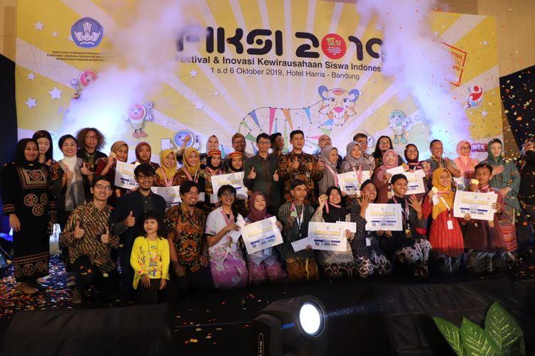 Penyelenggaraan FIKSI 2019 berlangsung sejak 1-6 Oktober 2019 di Bandung, Jawa Barat, mengangkat tema ?Sociopreneurship in Digital Era Based on Local Resources?.