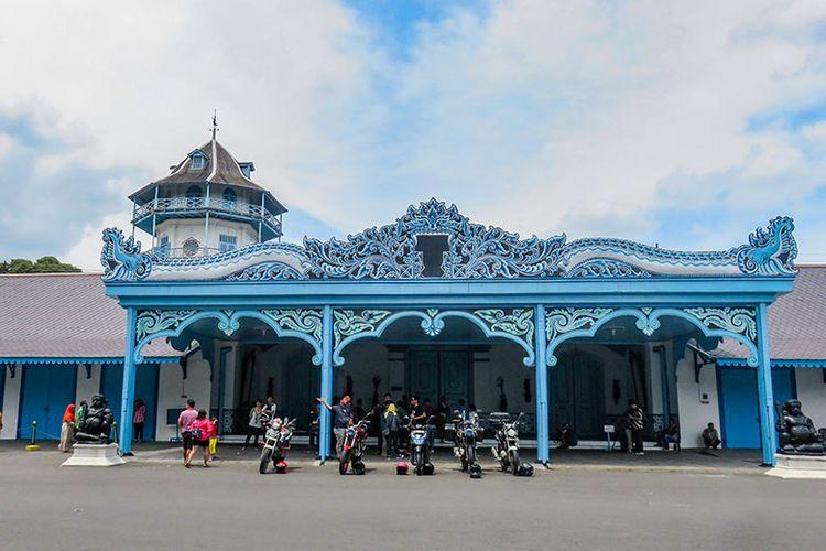 Keraton Surakarta Hadiningrat yang ada di Kota Surakarta, Jawa Tengah
