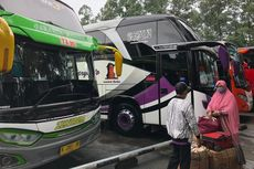 Selama PPKM, Jumlah Penumpang Bus di Terminal Menurun