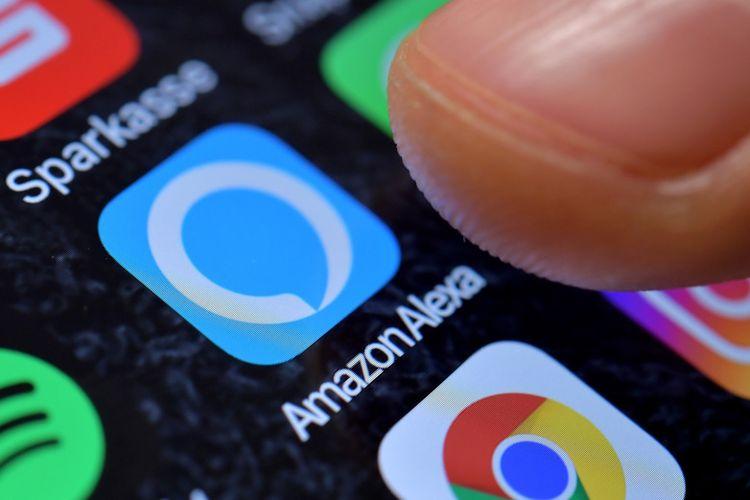 Ilustrasi aplikasi Amazon Alexa