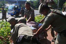 Pedagang Lokbin IRTI Dianggap Biang Keladi Semrawutnya Monas