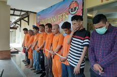 10 Anggota Geng di Sleman Rusak Apapun yang Dilihatnya, Bacok Warga Tanpa Alasan