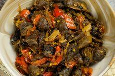 Resep Oseng Ati Ampela Kecap, Makanan ala Warteg 2 Langkah Masak