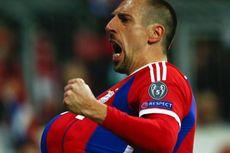 Selebrasi Ribery untuk Istrinya yang Sedang Hamil