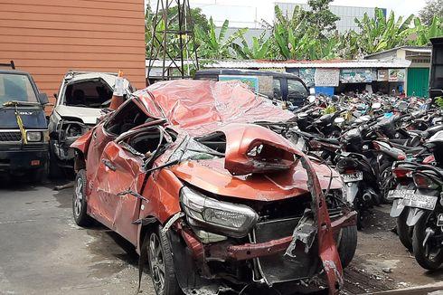 Kecelakaan Maut Sleman, Rekaman CCTV Tunjukkan Mobilio Dikemudikan dengan Kecepatan Tinggi