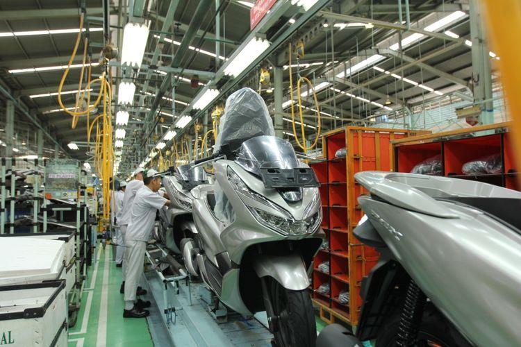 Honda PCX diproduksi di pabrik yang berlokasi di Sunter.