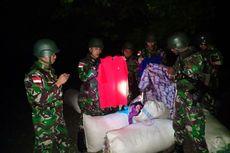 TNI Gagalkan Penyelundupan 14 Karung Pakaian Bekas dari Timor Leste