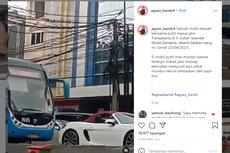 Akhir Kasus Mahasiswi Pengemudi Porsche yang Terobos Jalur Busway: Ditilang Rp 500.000 dan Mobil Disita