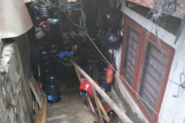 Rumah Bu Lies saat ditemui di Apartemen Thamrin Residence Executive, Jalan Kebon Melati, Jakarta Pusat, Jumat (20/9/2019).