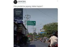 Viral, Foto Plang Jalan ke Jepang dan Kota Semarang, di Mana Lokasinya?