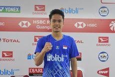 Indonesia Masters 2020, Ginting Akui Tidak Nyaman Main Lawan Senior