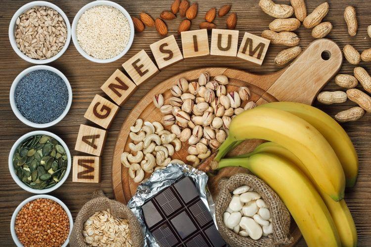 Ilustrasi makanan kaya magnesium