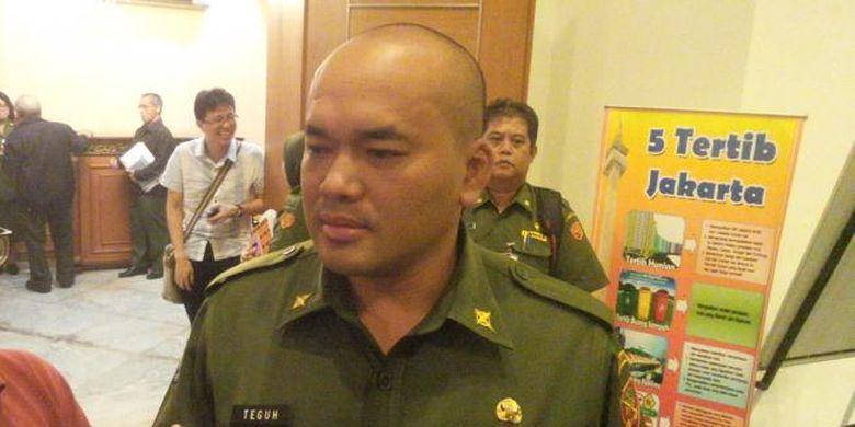 Kepala Dinas Tata Air DKI Jakarta Teguh Hendrawan di Balai Kota, Senin (25/1/2016).