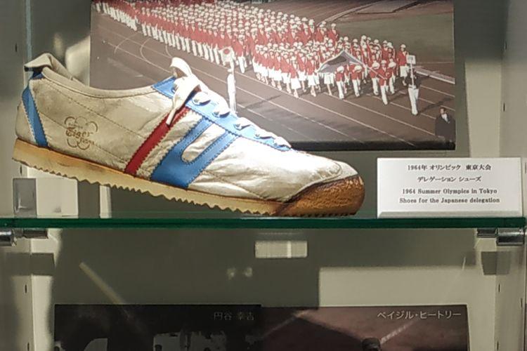 Onitsuka Tiger Delegation 64 adalah sepatu yang dipakai delegasi Jepang pada Olimpiade musim panas Tokyo tahun 1964. Sepatu ii disimpan di Museum Asics di Kobe, Jepang.