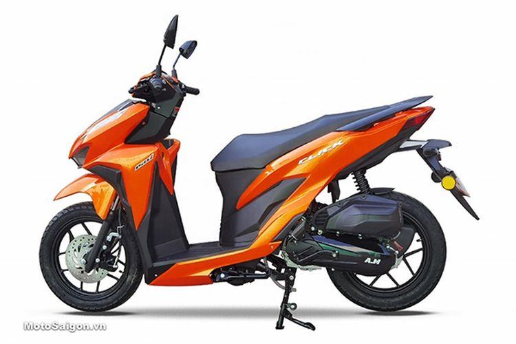 Skutik buatan pabrikan China yang sangat mirip Honda Vario