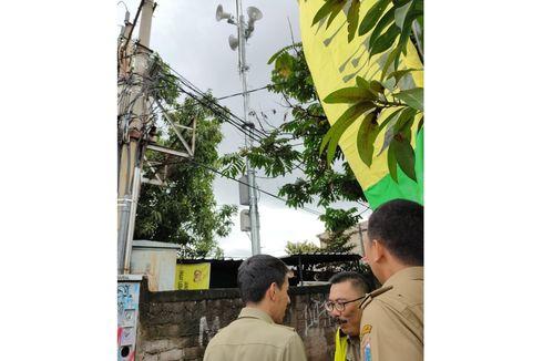 Sirene Peringatan Dini Banjir Dipasang di Cipinang Melayu