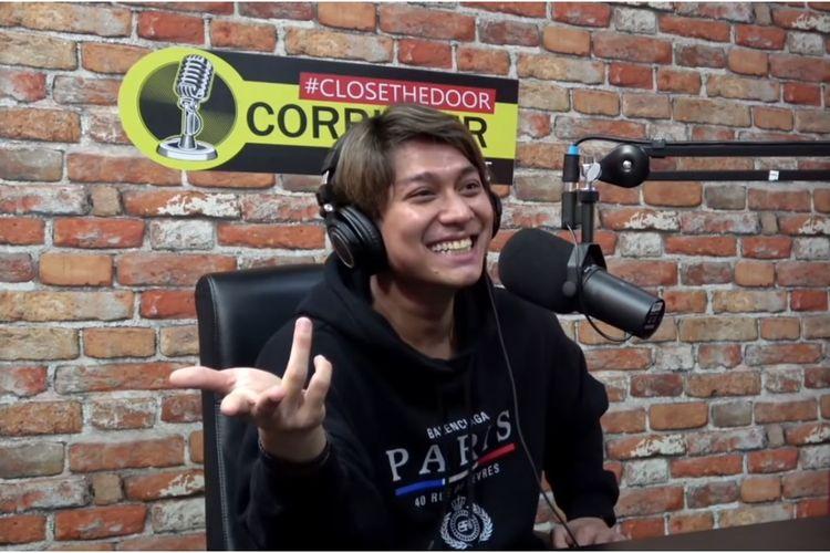 Pesinetron Rizky Billar menjadi bintang tamu podcast Deddy Corbuzier.
