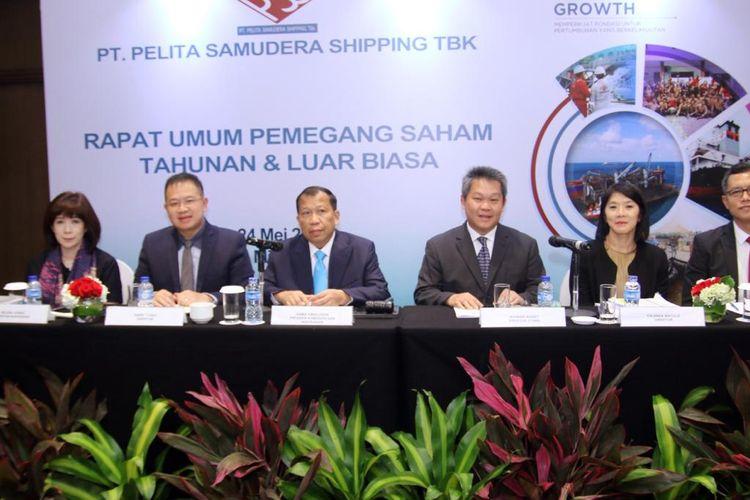 Rapat Umum Pemegang Saham PT Pelita Samudera Shipping Tbk.