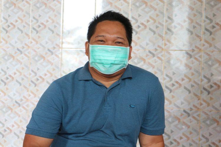 Muhammad Rosyid (31), penyintas Covid-19 asal Desa Keras, Kecamatan Diwek, Kabupaten Jombang, Jawa Timur.