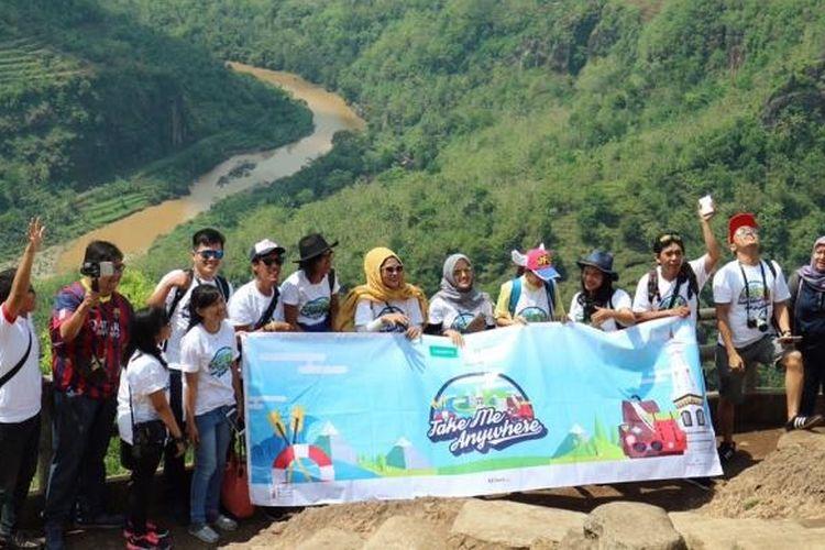 Para pemenang kompetisi Take Me Anywhere 2 berlibur ke Yogyakarta selama tiga hari mulai Jumat hingga Minggu (16/10/2016).