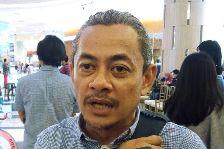 Pengurus Jakarta Cycling Club (JCC) Ario Pratomo berpesan agar pecinta olahraga bersepeda semakin sadar akan pengaruh besar bersepeda bagi kesehatan.  Foto diambil di Kuningan City, Jakarta, Rabu (27/11/2019) sebelum pergelaran Velofest pada 13-15 Desember 2019.