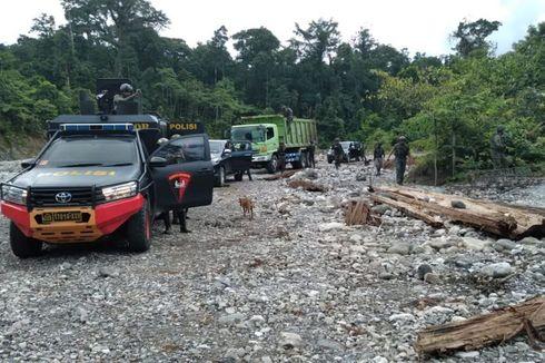 Kontak Tembak dengan KKB, 4 Anggota Satgas Nemangkawi Terluka
