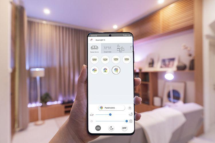 Aplikasi WiZ membantu mengoperasikan Philips Smart Wi-Fi LED melalui smartphone.