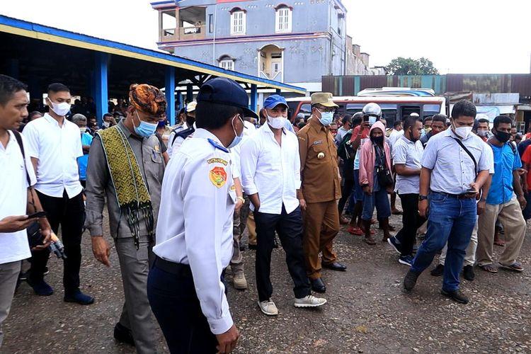 Gubernur Nusa Tenggara Timur (NTT) Viktor Bungtilu Laiskodat  meninginkan desain terminal angkutan penumpang di Pulau Timor, harus dapat mendukung pariwisata.