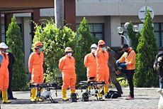 Pemkot Bekasi Pakai Drone untuk Semprotkan Disinfektan ke Jalan Protokol dan Stadion