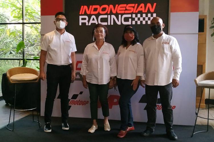 MP1 menggandeng Gresini Racing sebagai mitra strategis Indonesian Racing