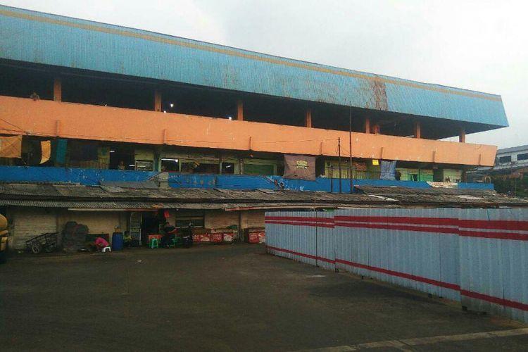 Bangunan pasar tradisional Pasar Minggu yang dikelola PD Pasar Jaya.