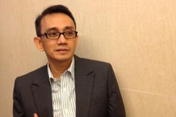Presiden Direktur XL Hasnul Suhaimi