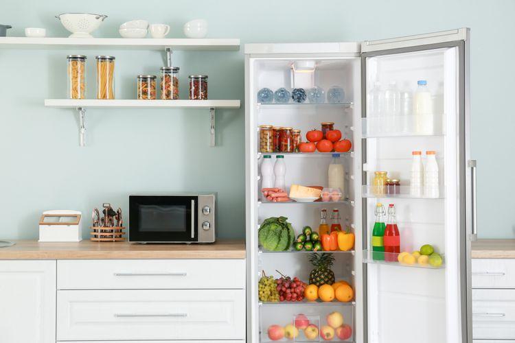 bisakah kulkas yang baru dibeli