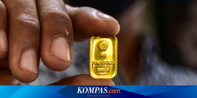 Naik Rp 2.000, Berikut Rincian Harga Emas Antam Hari Ini