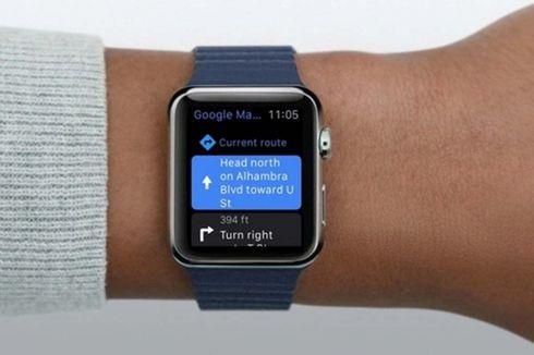 Google Maps Kembali Hadir di Apple Watch