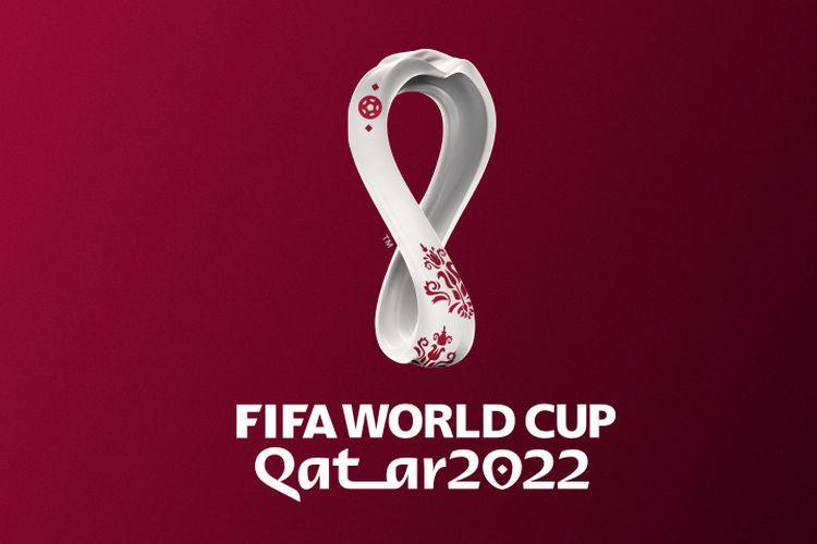 Logo Piala Dunia 2022 Qatar.