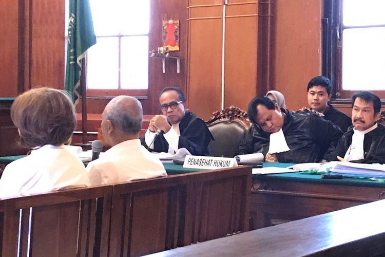 Sidang perkara TPPU Dan Pemerasan mantan Dirut PT Pelindo III dan isterinya