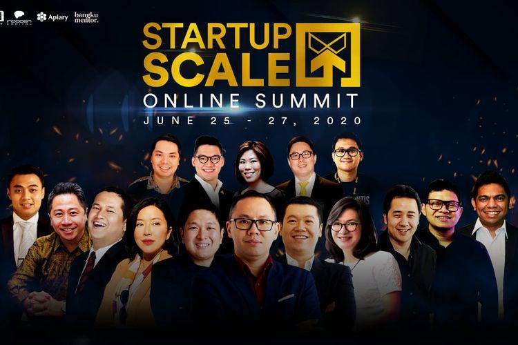 Hartanah Cerdas Bangsa penyedia platform pendidikan bisnis dan finansial LifeXAcademy menggelar StartupScaleX: Online Summit 2020, selama tiga hari 25-27 Juni 2020.
