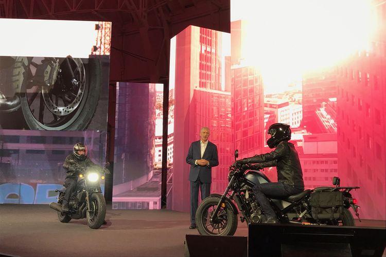 Peluncuran 5 Motor Honda di Milan, Italia