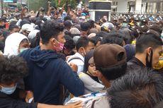 Demo Tolak UU Cipta Kerja di Pematangsiantar Ricuh, Mahasiswa dan Polisi Terluka