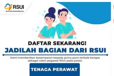RS Universitas Indonesia Buka Lowongan Tenaga Perawat Lulusan D3