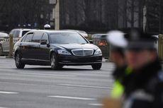 Kim Jong Un Kembali Pakai Limosin Saat di Rusia, Produsen Mobil Jerman Bingung