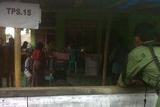 Hujan, Warga Maluku Utara Pilih