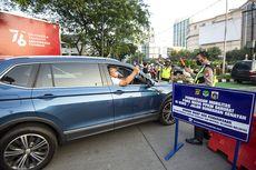 Lalu Lintas Kendaraan di Jakarta Mulai Ramai Saat PPKM Level 4