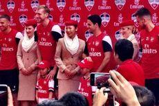 Lima Bintang Arsenal Berikan Coaching Clinic di Senayan